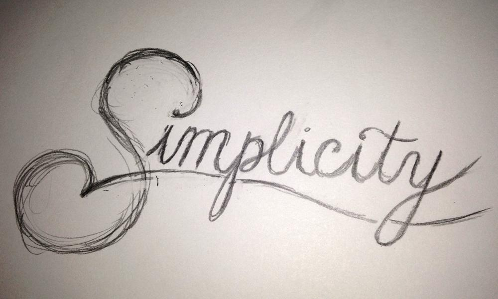 Simplicity - image 1 - student project
