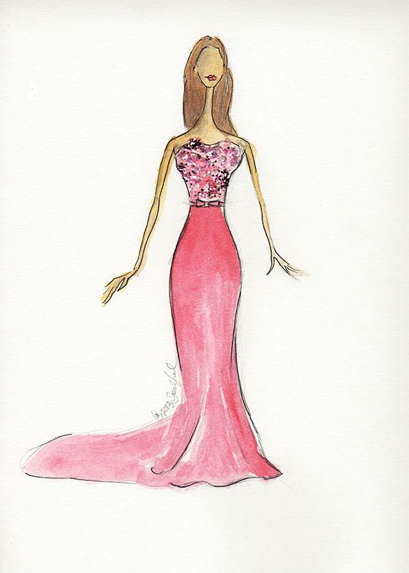 SKETCHES: Kerri Washington's Fashion Inspirations - image 9 - student project