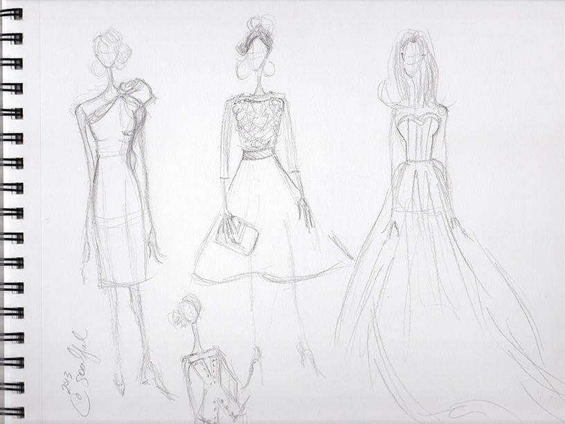 SKETCHES: Kerri Washington's Fashion Inspirations - image 8 - student project