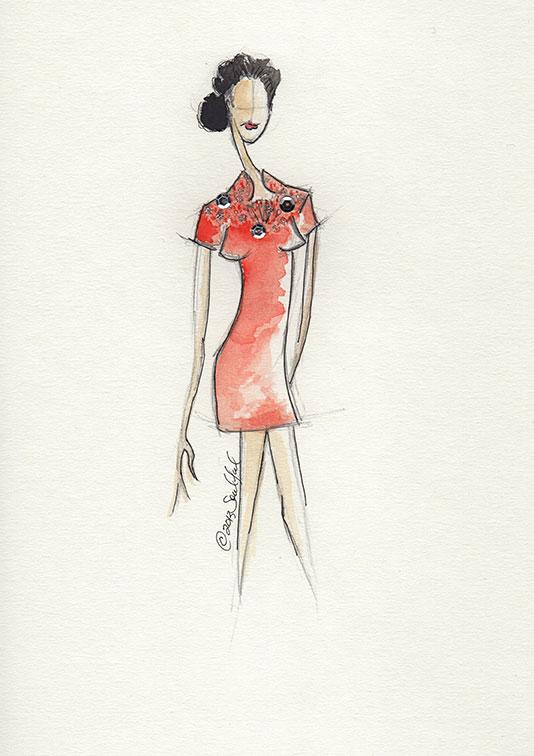 SKETCHES: Kerri Washington's Fashion Inspirations - image 12 - student project