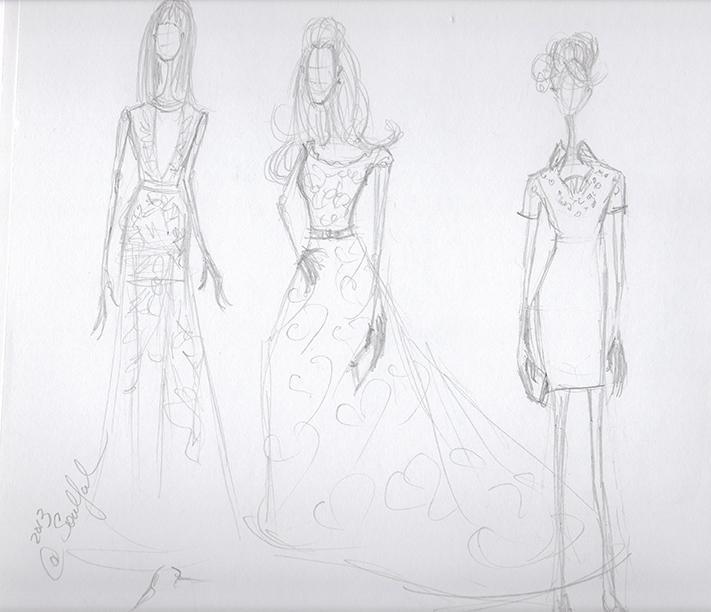 SKETCHES: Kerri Washington's Fashion Inspirations - image 7 - student project