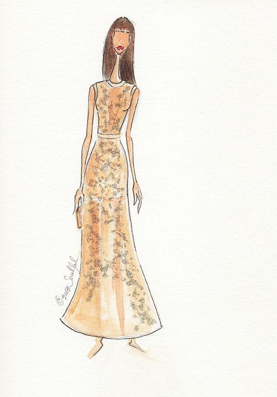 SKETCHES: Kerri Washington's Fashion Inspirations - image 11 - student project