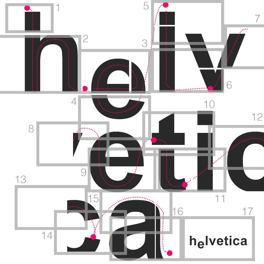 bouncing ball through font - image 1 - student project
