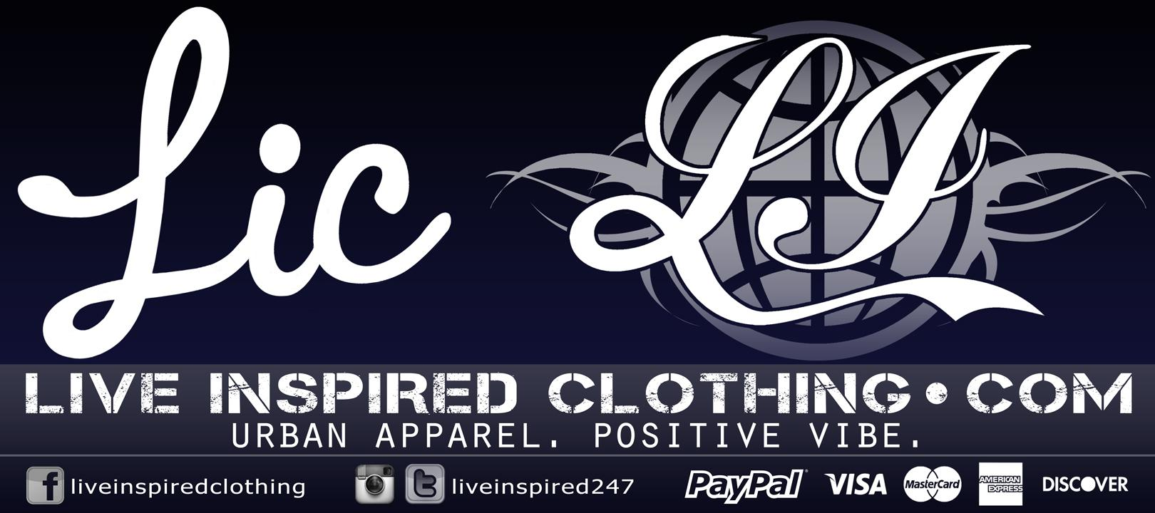LIC...a.k.a Live Inspired Clothing - image 1 - student project