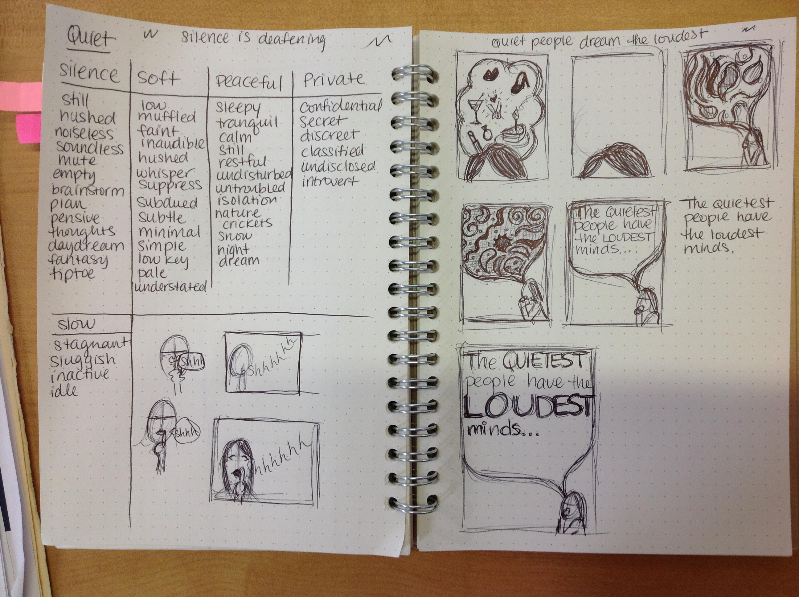 Quiet Vs. Loud - image 2 - student project