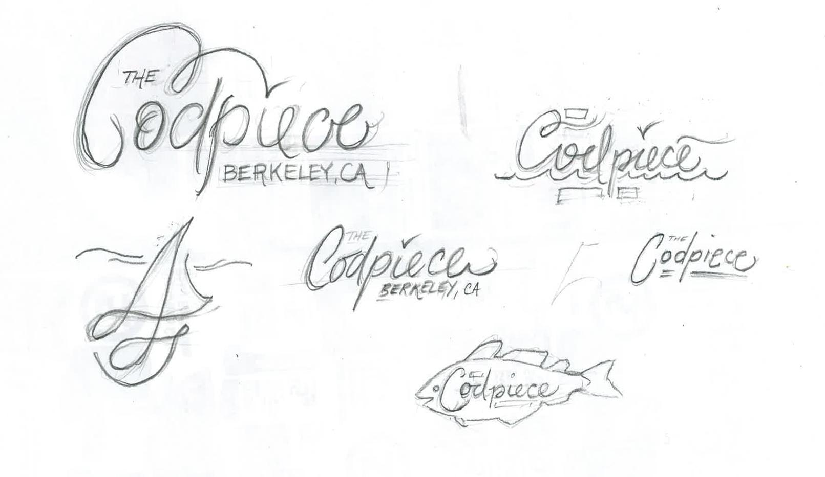 """Lettering for sailboat """"the Codpiece - Berkeley, CA"""" - image 4 - student project"""
