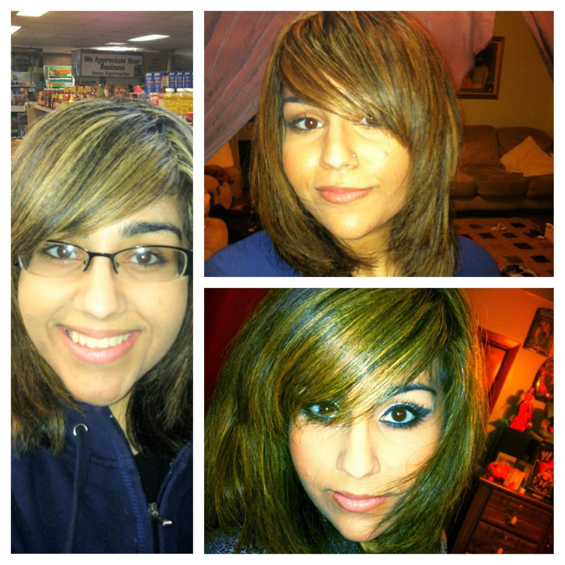Ruby's before/ after daytime and evening look  - image 1 - student project