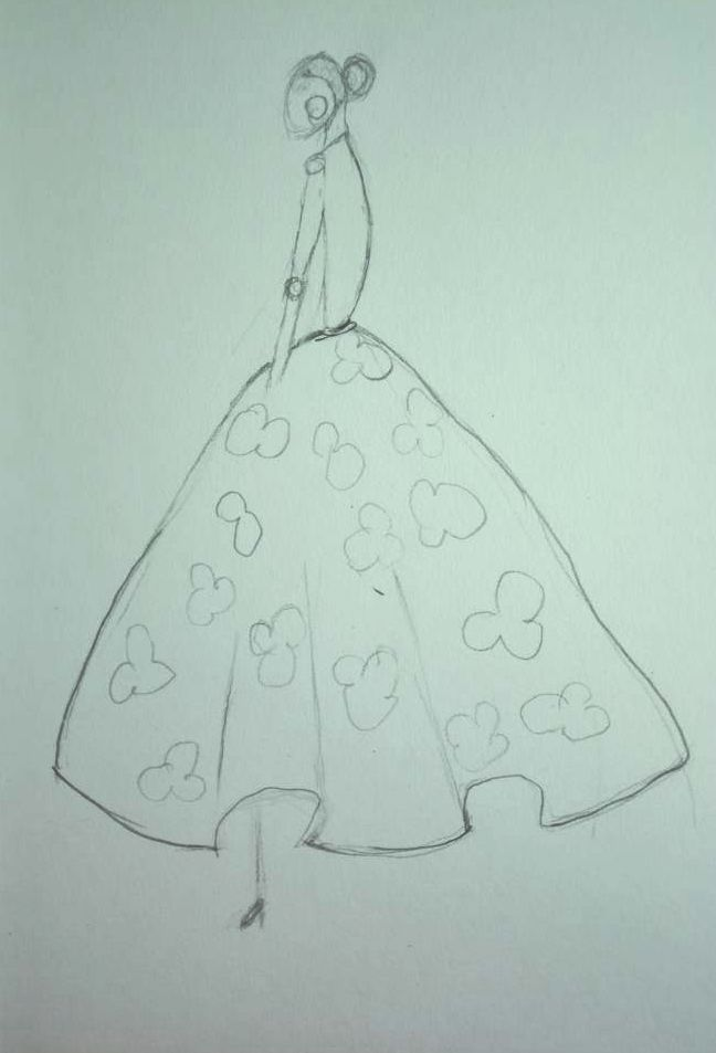 Watercolor - Dresses That Dazzle - image 2 - student project