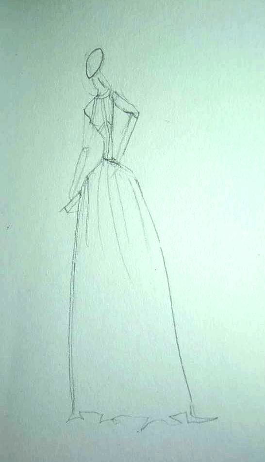 Watercolor - Dresses That Dazzle - image 5 - student project