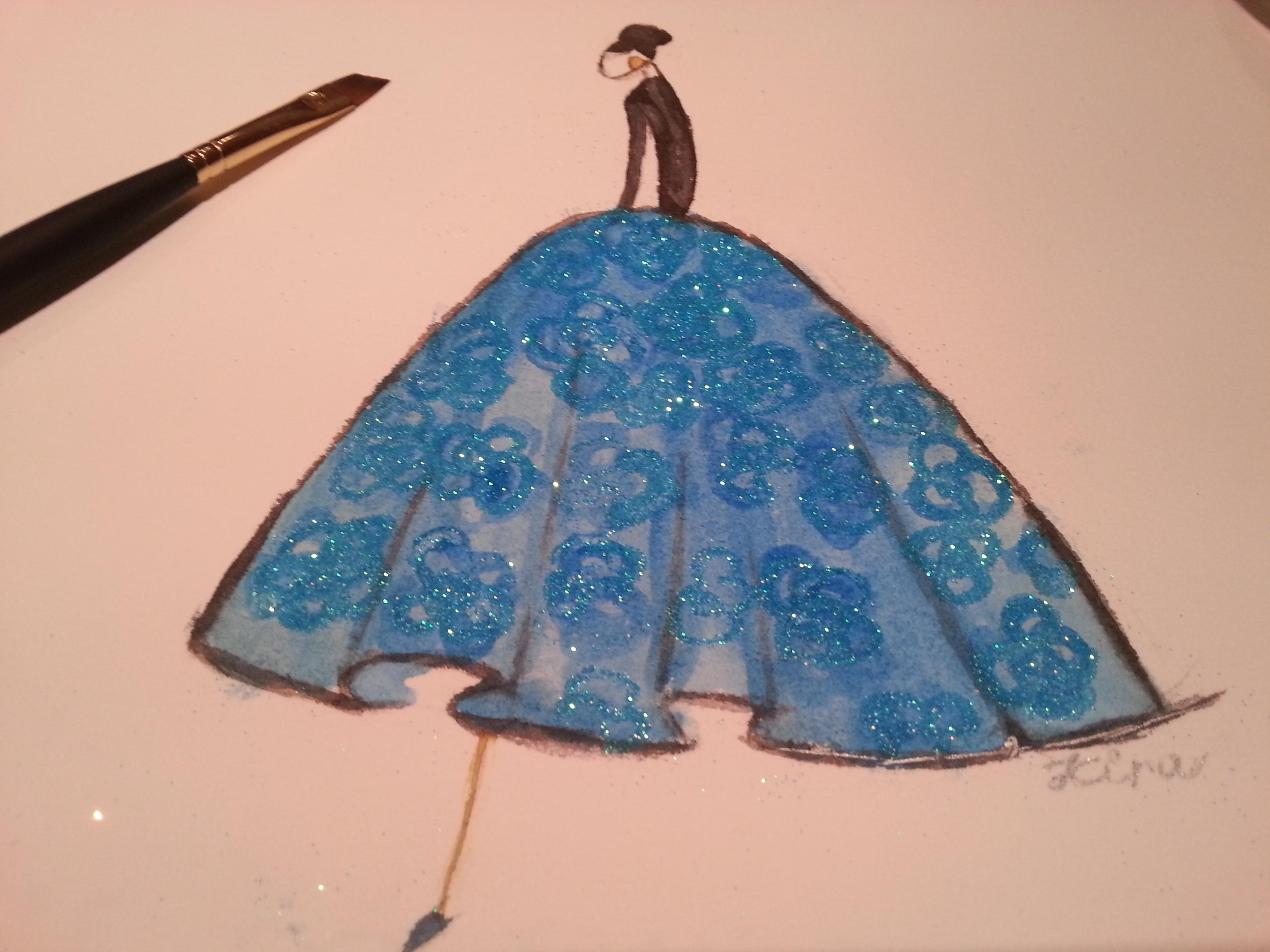 Watercolor - Dresses That Dazzle - image 1 - student project