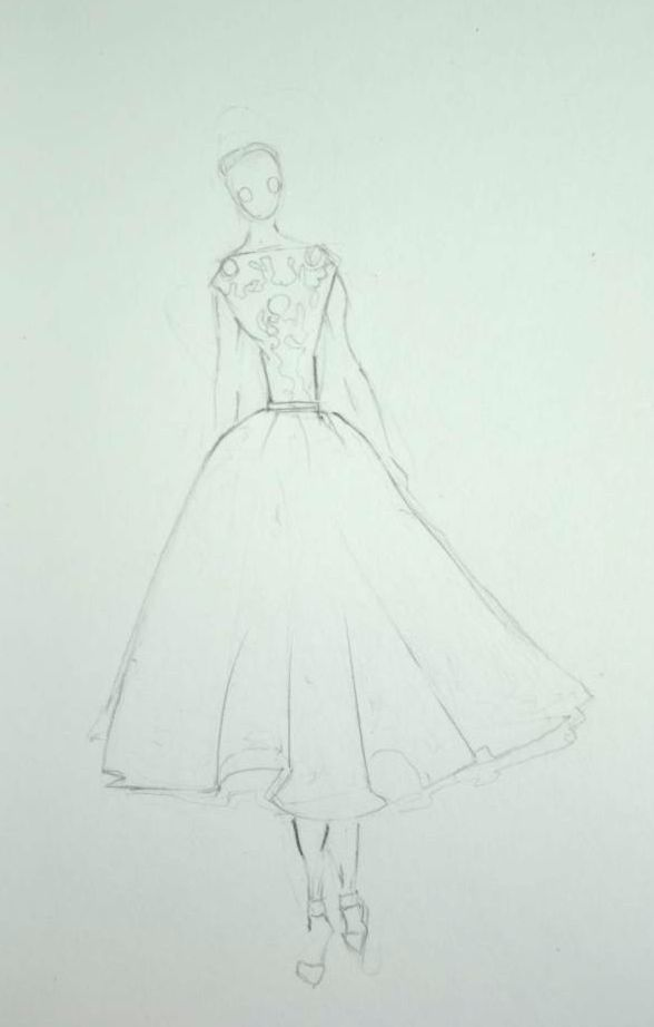 Watercolor - Dresses That Dazzle - image 3 - student project