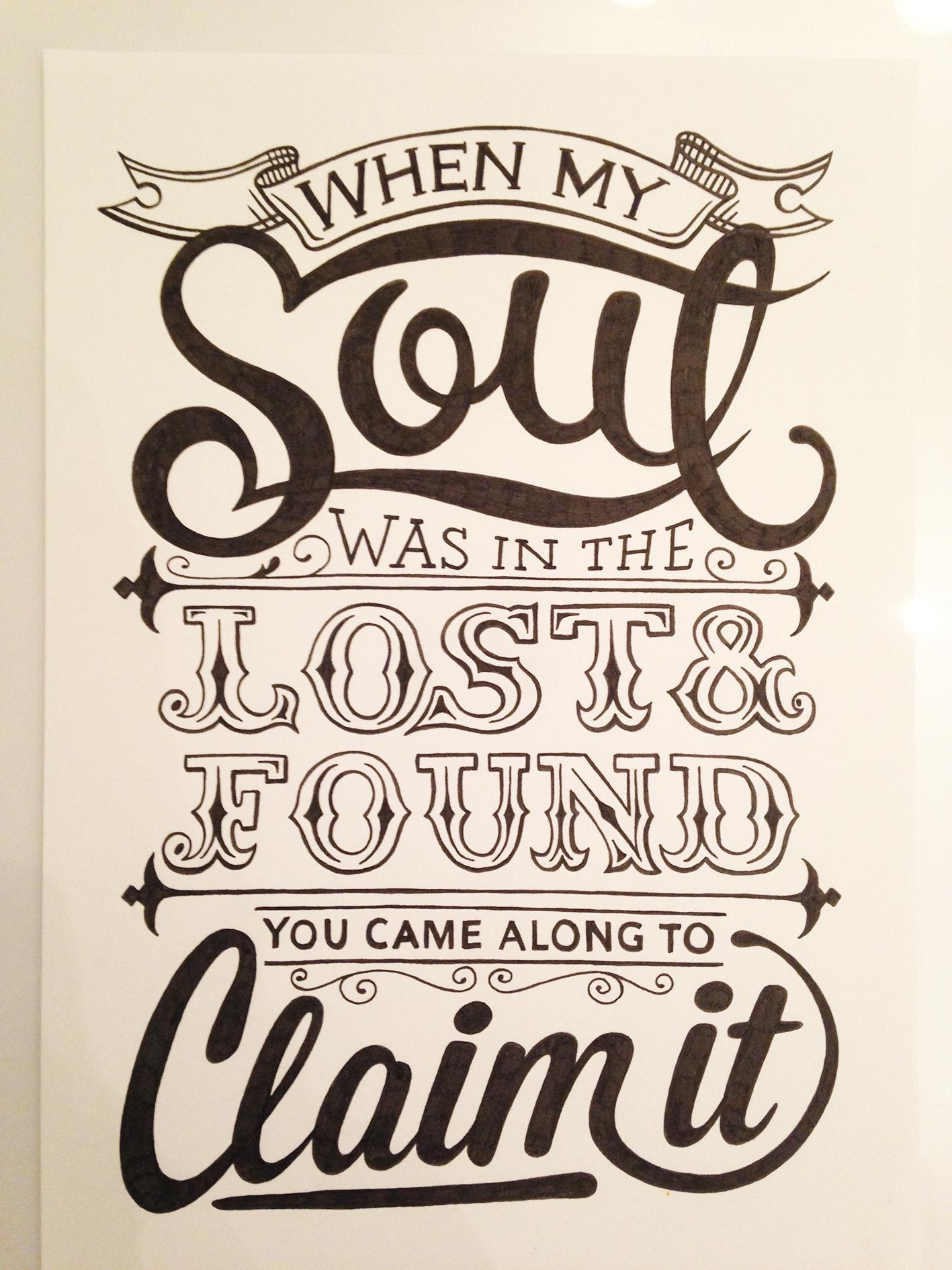 When my soul was in the lost and found... - image 12 - student project