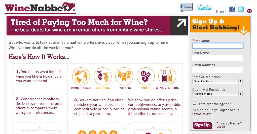WineNabber  - image 1 - student project