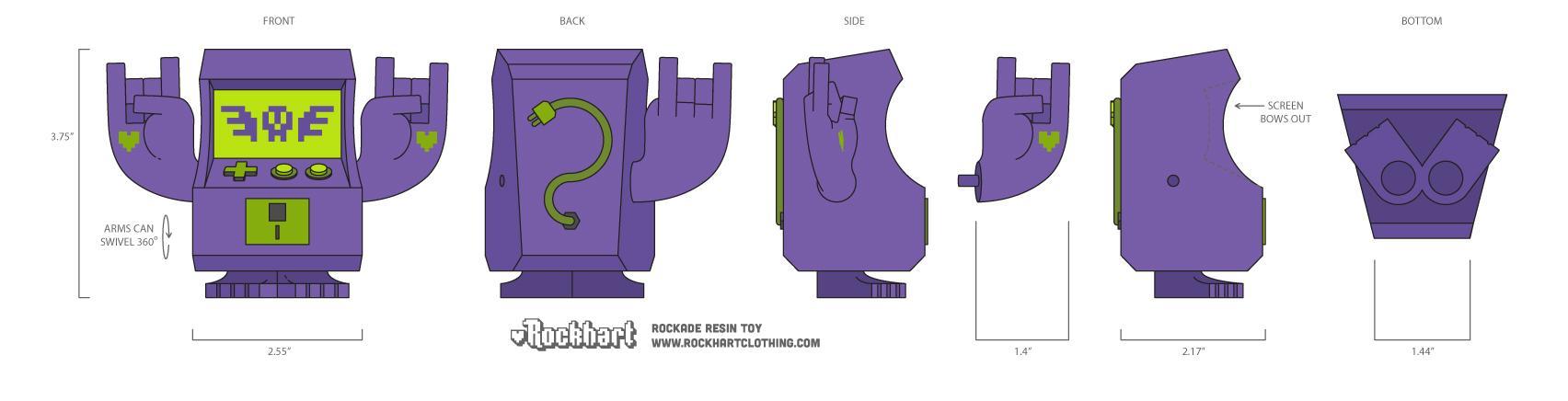 Rockade  - image 8 - student project