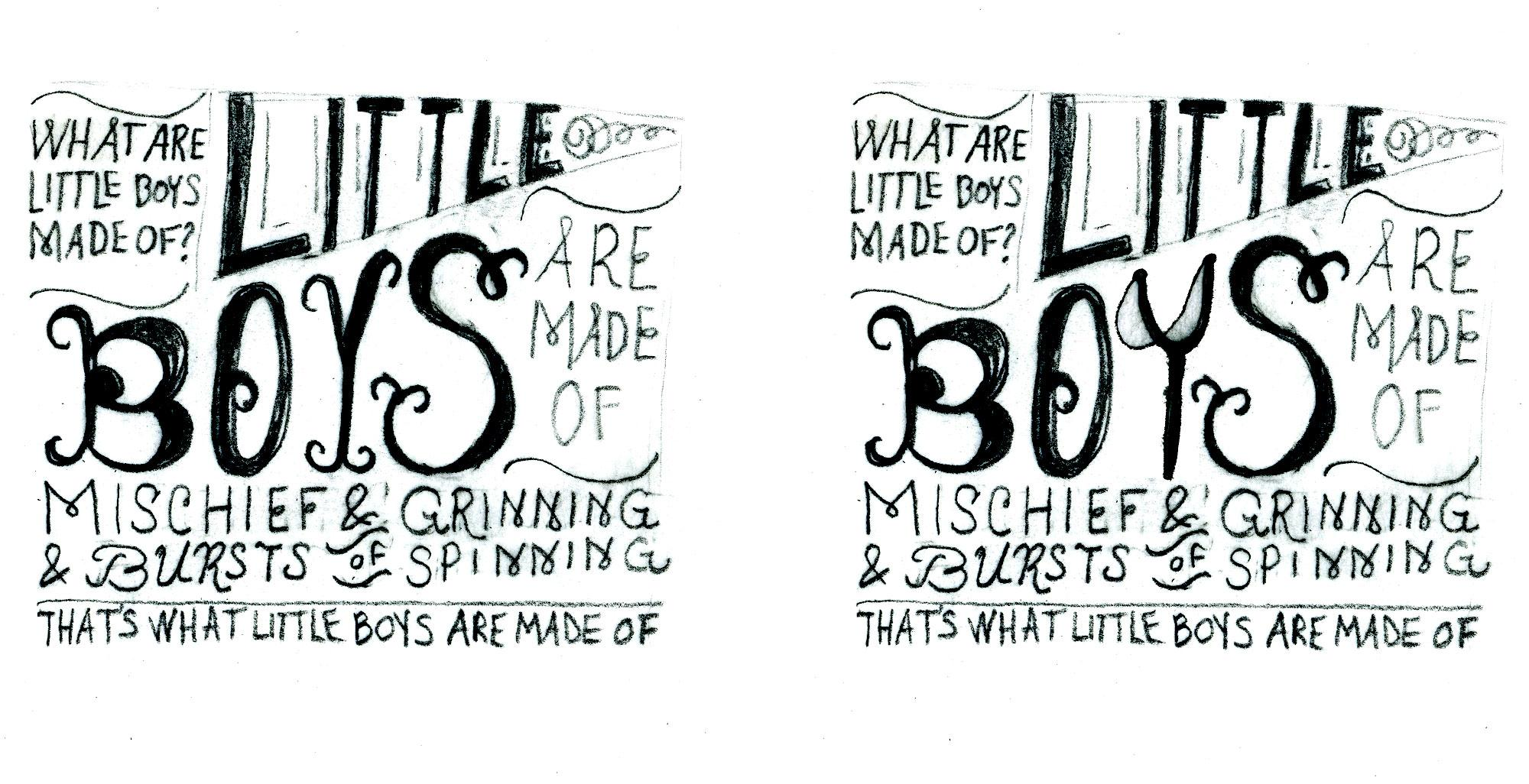 What boys & girls are made of - image 8 - student project