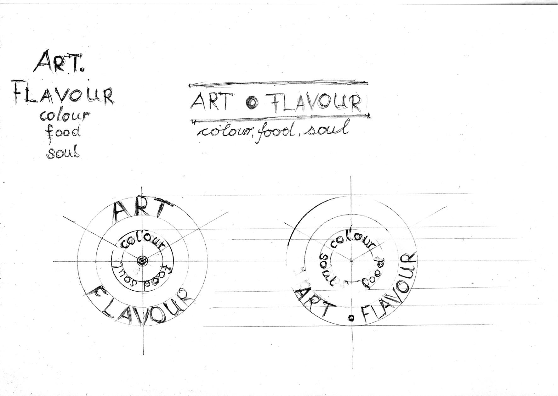 Creating a logo for my company ART.FLAVOUR/ next step - image 2 - student project