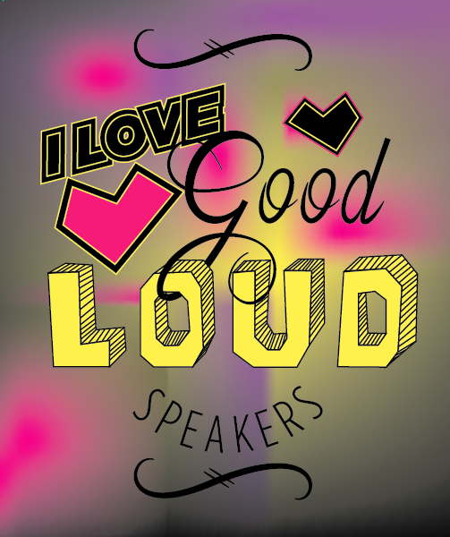 """""""I love good, loud speakers."""" —Brian Eno - image 20 - student project"""