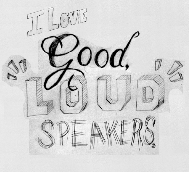 """""""I love good, loud speakers."""" —Brian Eno - image 7 - student project"""