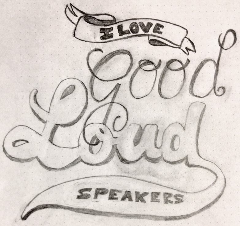 """""""I love good, loud speakers."""" —Brian Eno - image 12 - student project"""