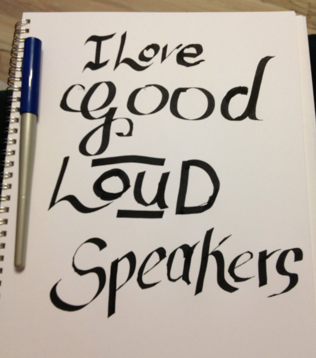 """""""I love good, loud speakers."""" —Brian Eno - image 15 - student project"""