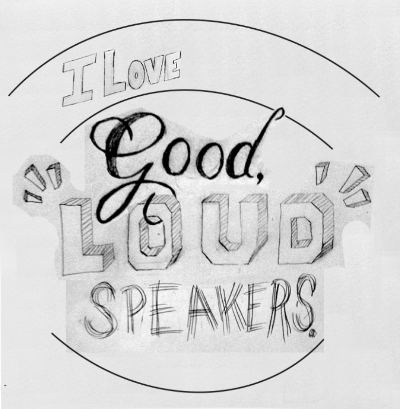 """""""I love good, loud speakers."""" —Brian Eno - image 8 - student project"""