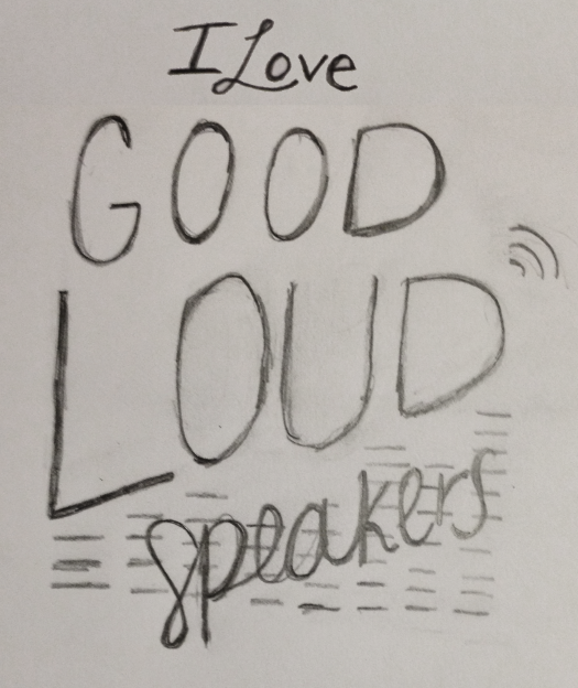 """""""I love good, loud speakers."""" —Brian Eno - image 13 - student project"""