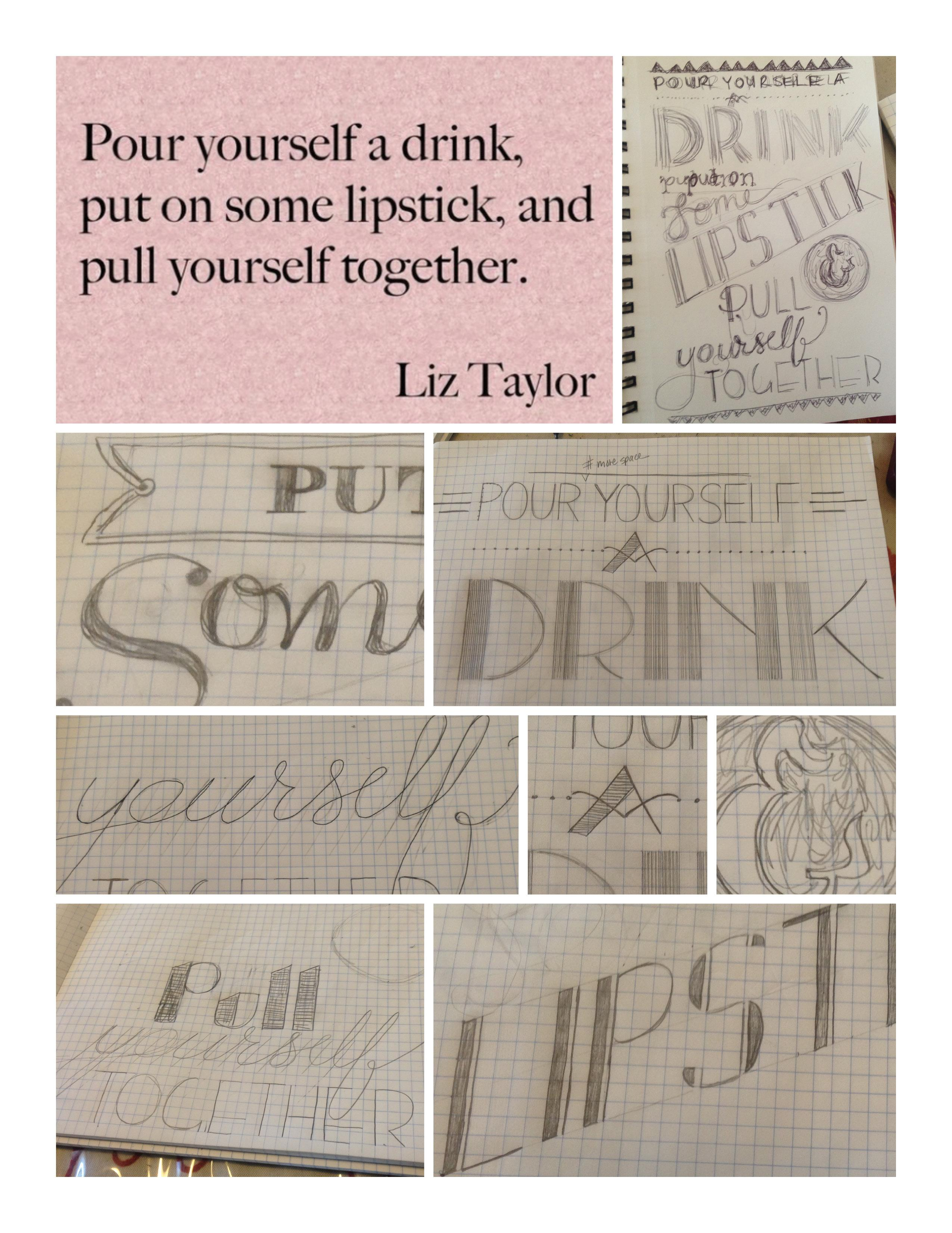 pour yourself a drink.  - image 6 - student project