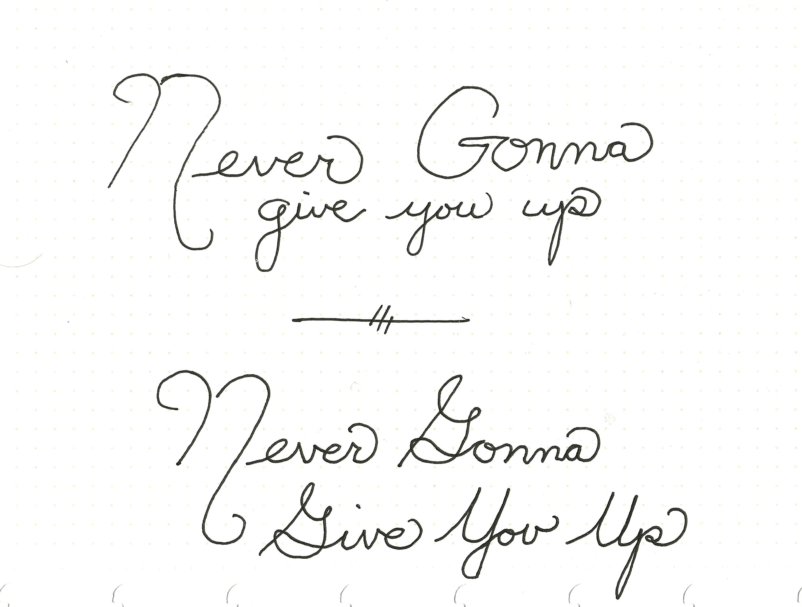 Never Gonna Give You Up - image 1 - student project