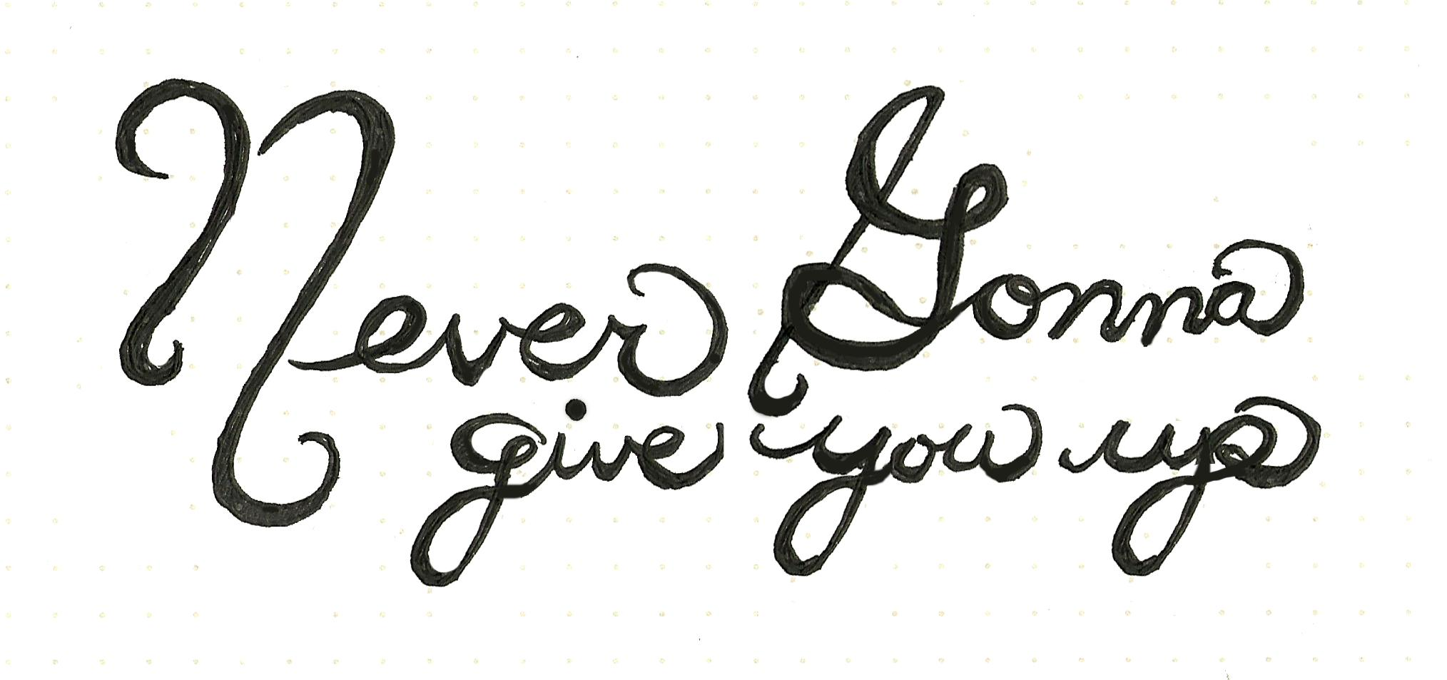 Never Gonna Give You Up - image 3 - student project