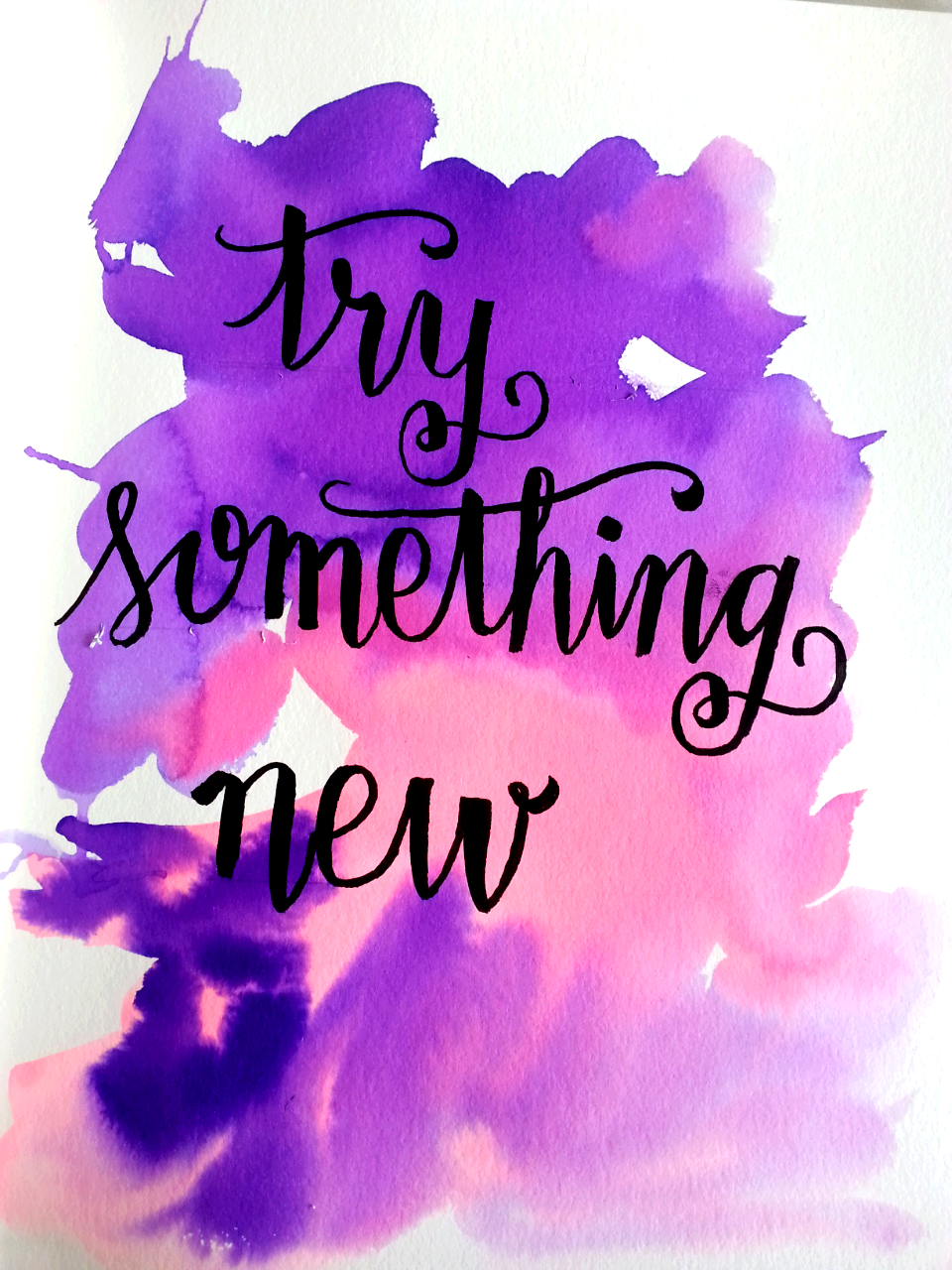 try something new - image 1 - student project