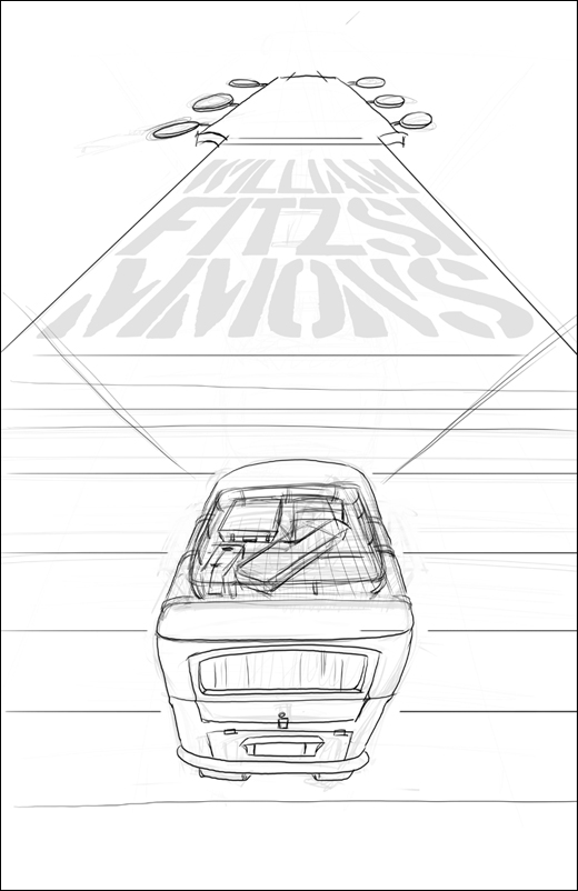 FINAL- William Fitzsimmons Fake Gig Poster - image 9 - student project