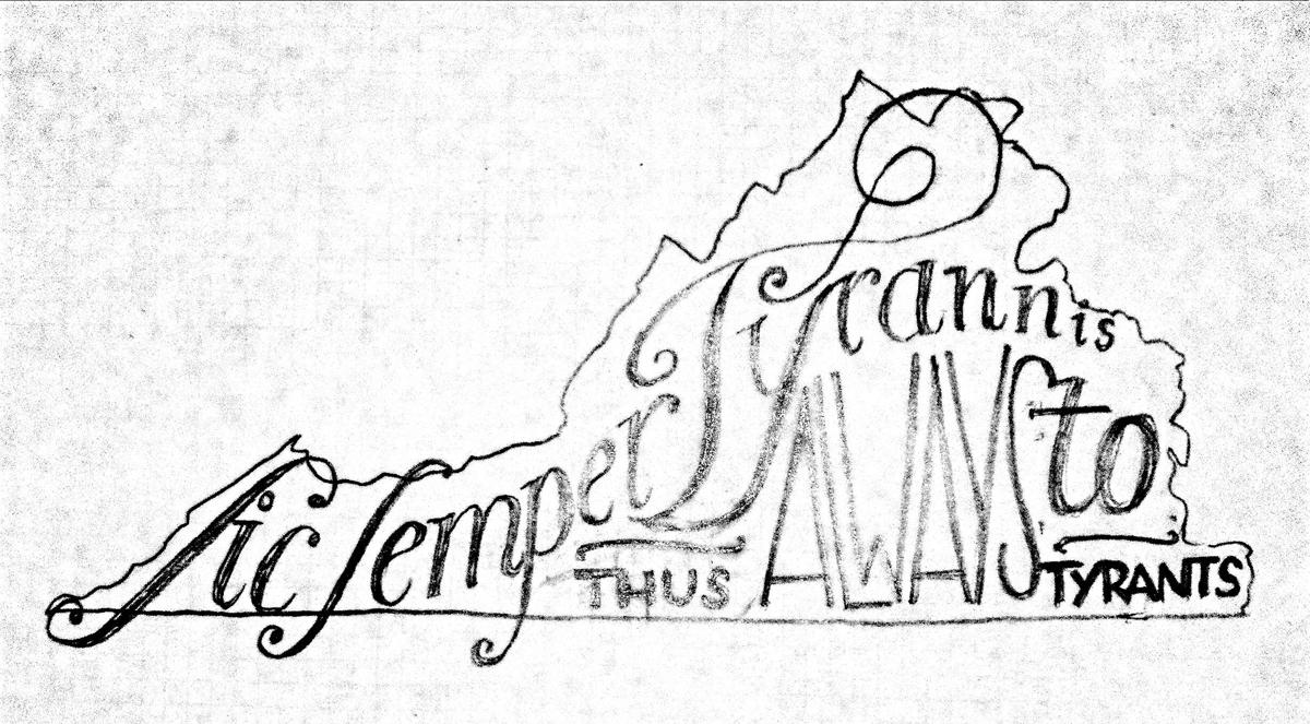 virginia motto - image 1 - student project