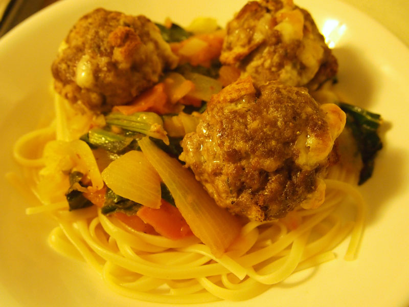 Cheesy meatballs - image 1 - student project