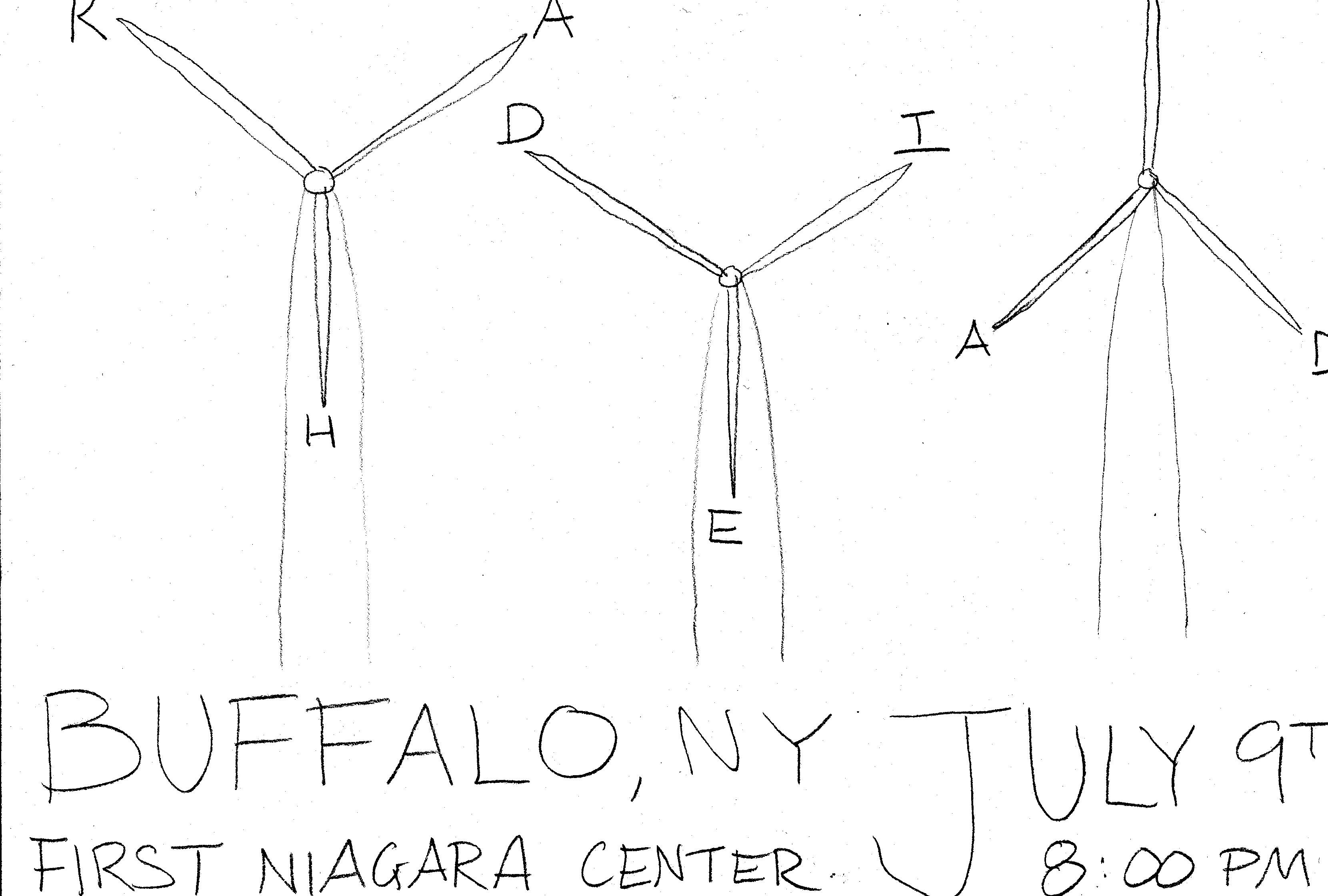 If Radiohead came to Buffalo... - image 3 - student project