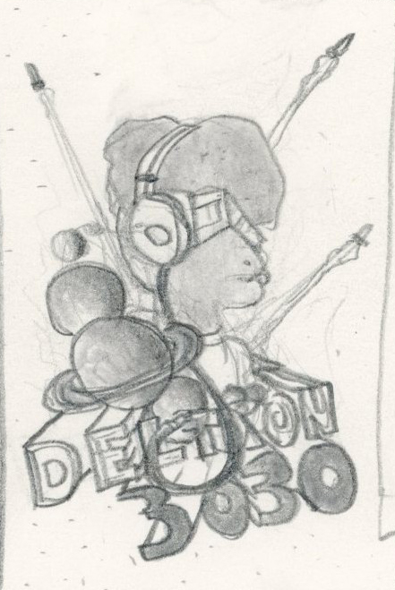 Complete: Deltron 3030 - image 14 - student project