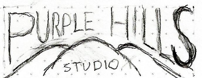 Purple Hills Studio Logo & Personal Monogram - image 2 - student project