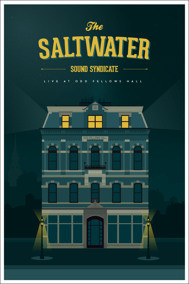 Saltwater Live from Odd Fellows Hall - image 17 - student project