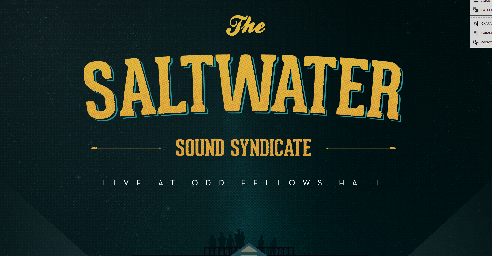 Saltwater Live from Odd Fellows Hall - image 20 - student project
