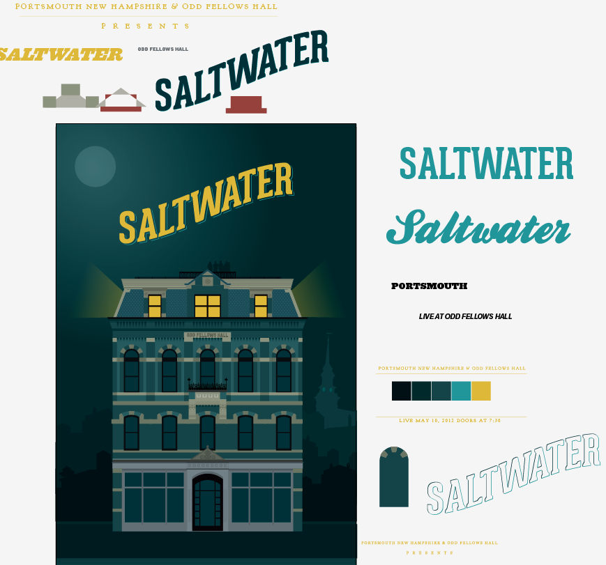 Saltwater Live from Odd Fellows Hall - image 15 - student project