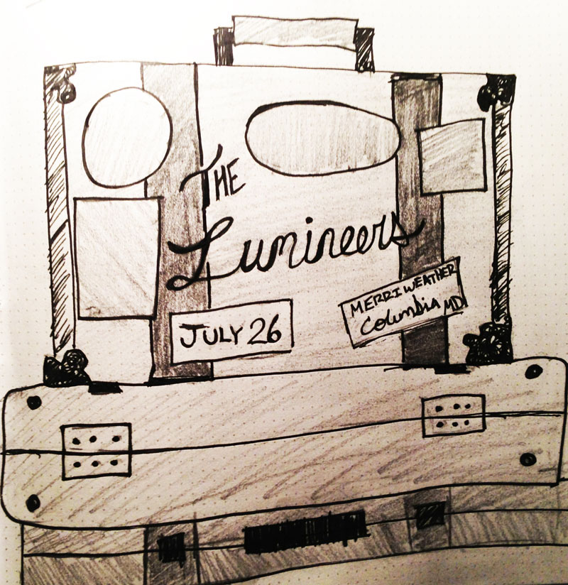 The  Lumineers - image 2 - student project