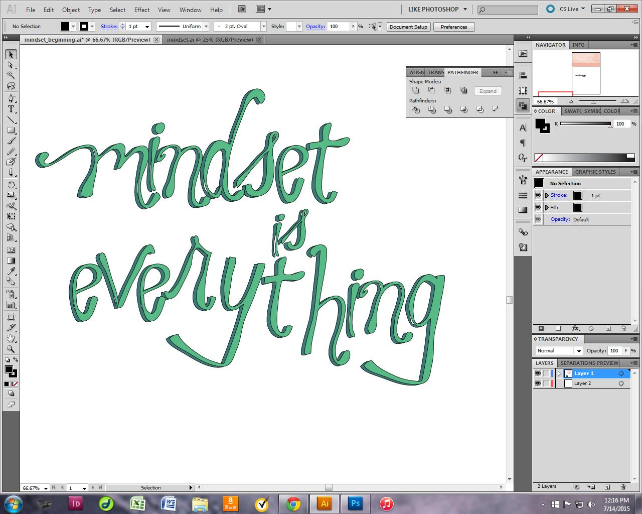 Mindset is Everything - image 4 - student project