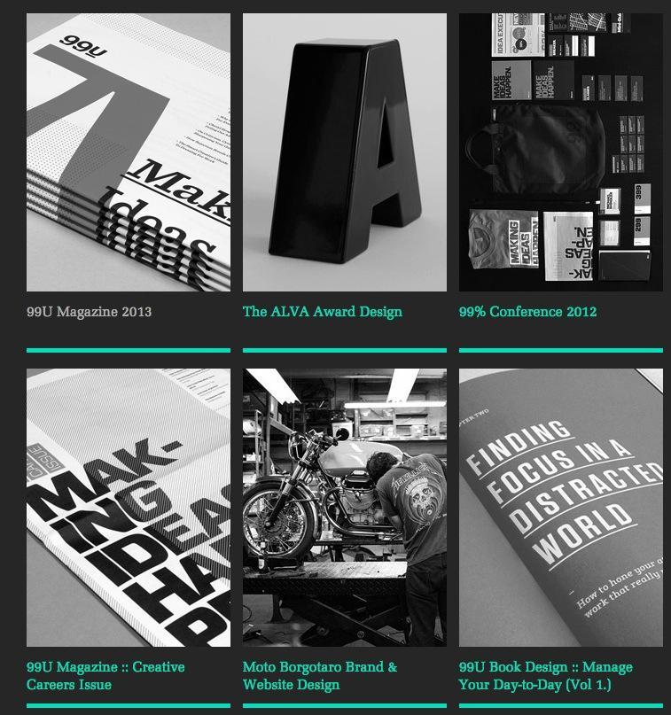 Matias Corea's Portfolio Site - image 2 - student project