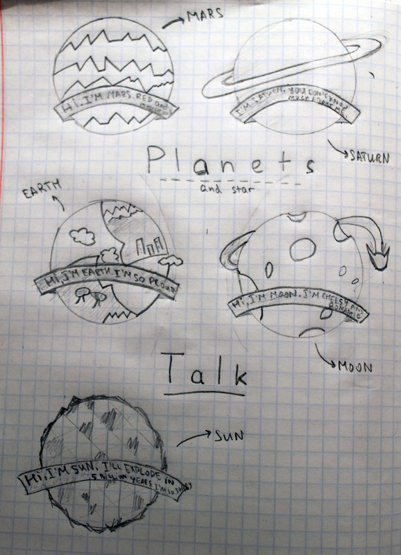 Planets Talk (DONE!) - image 6 - student project