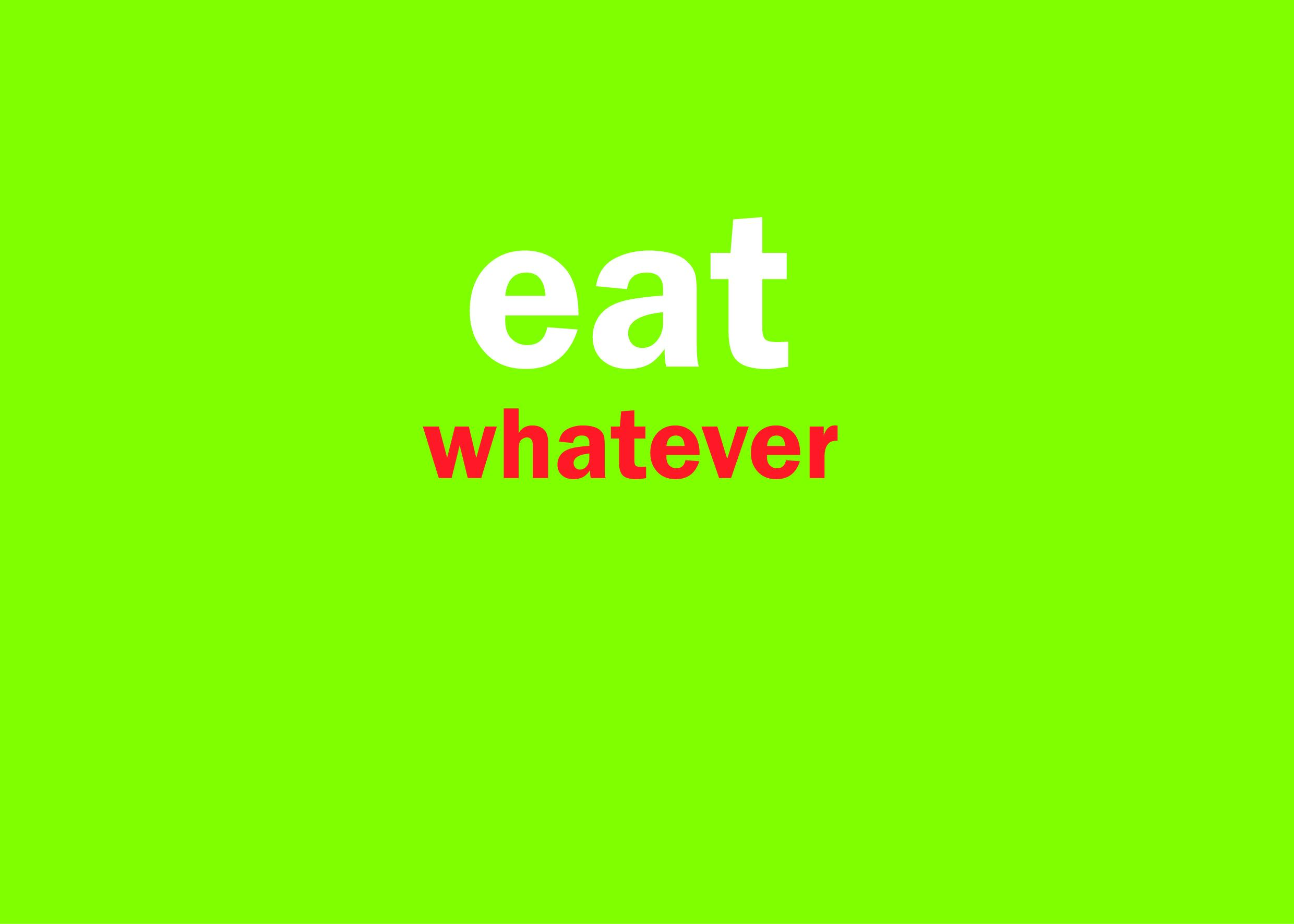 eating is fun - image 3 - student project