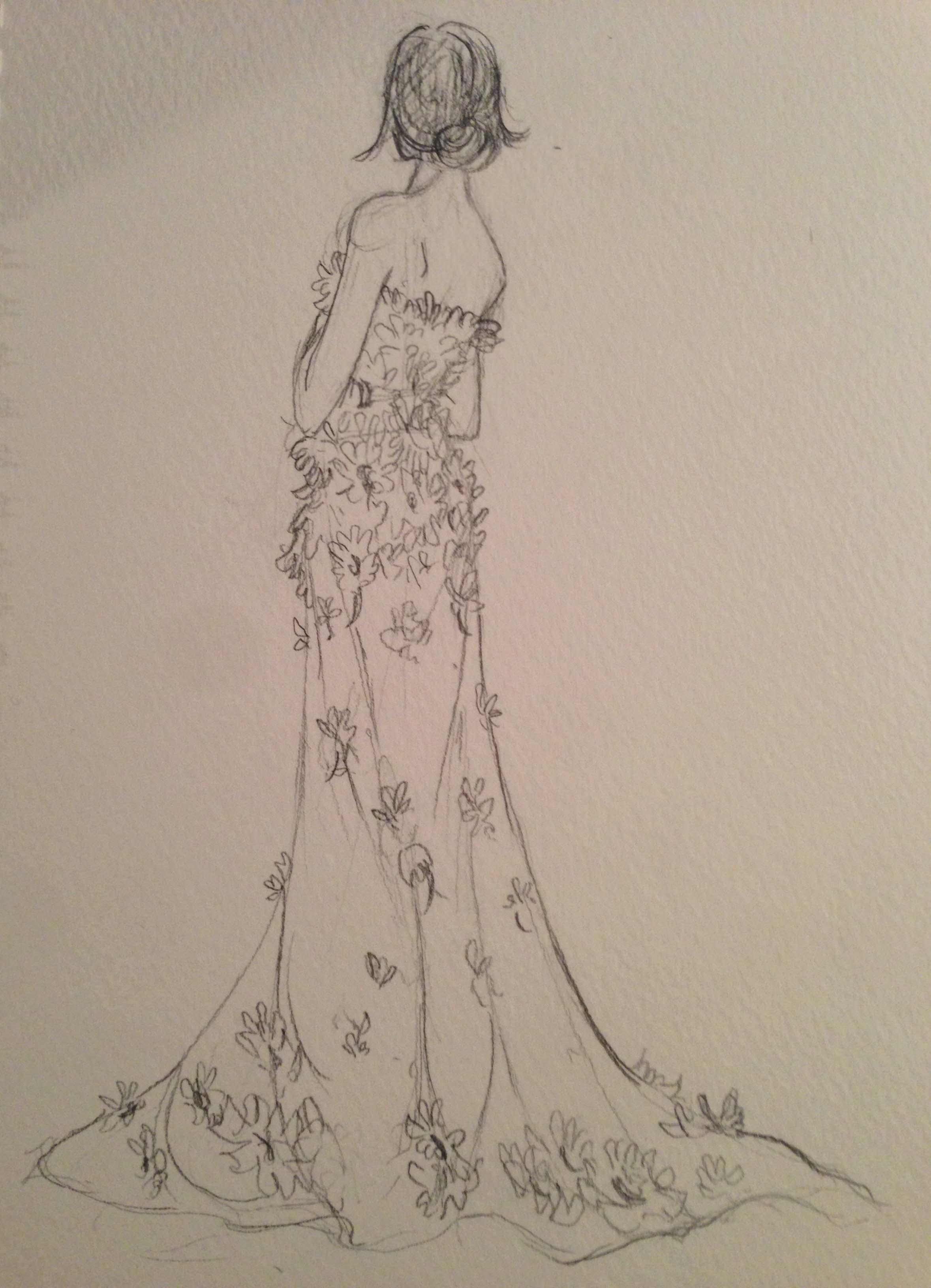 SKETCHES: Flouncy,Feminine and Full-bodied - image 10 - student project