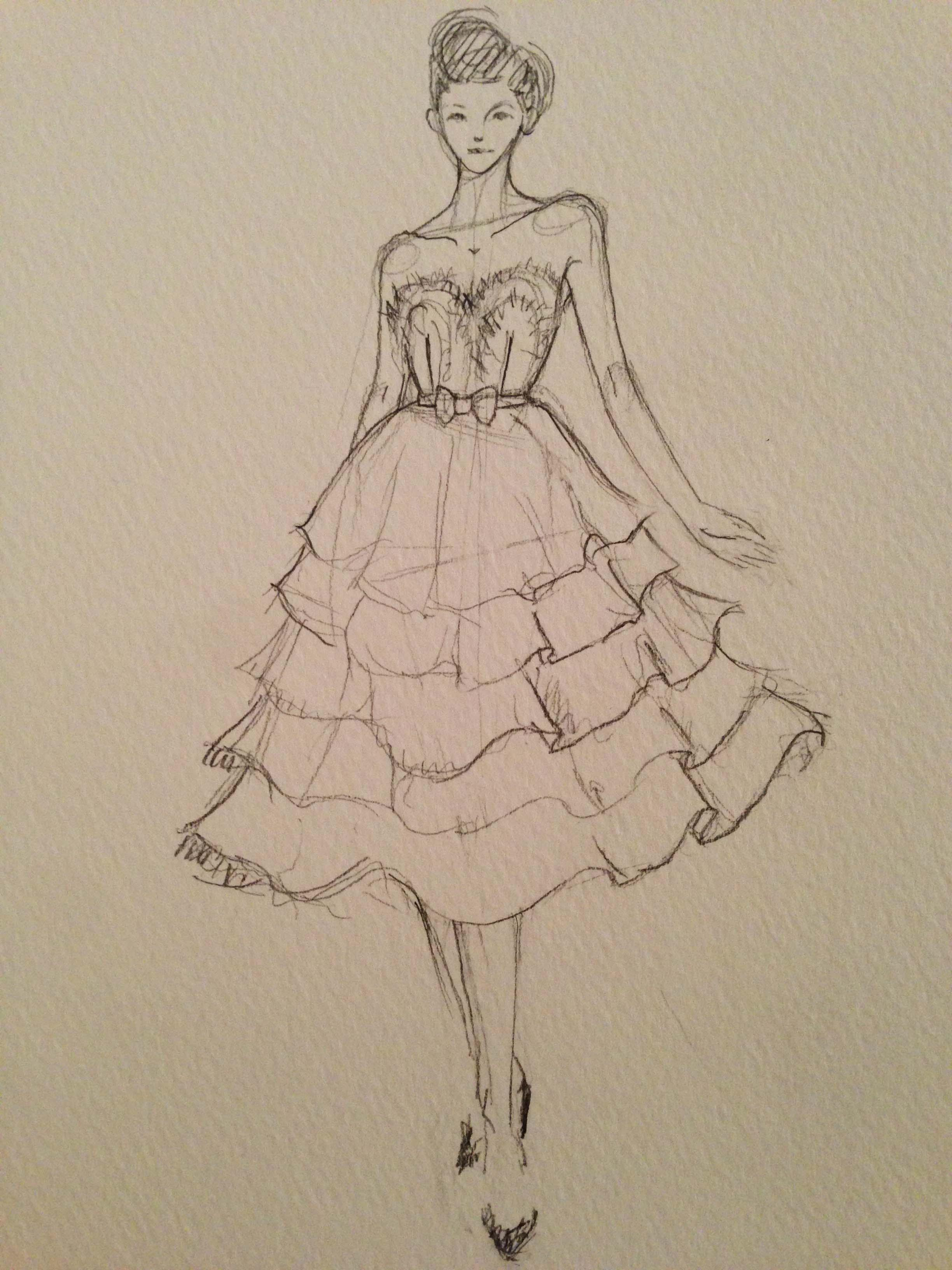 SKETCHES: Flouncy,Feminine and Full-bodied - image 4 - student project