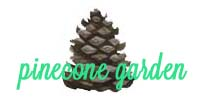 Pinecone Garden handmade art and gifts site - image 1 - student project