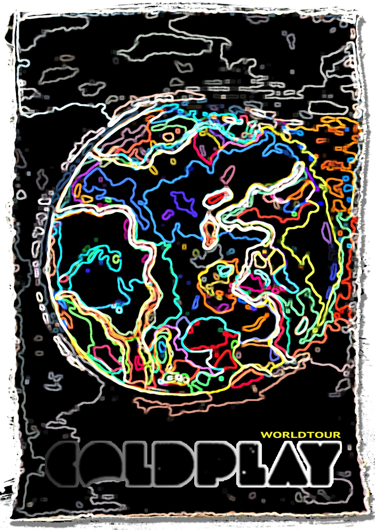 Coldplay world tour - image 7 - student project