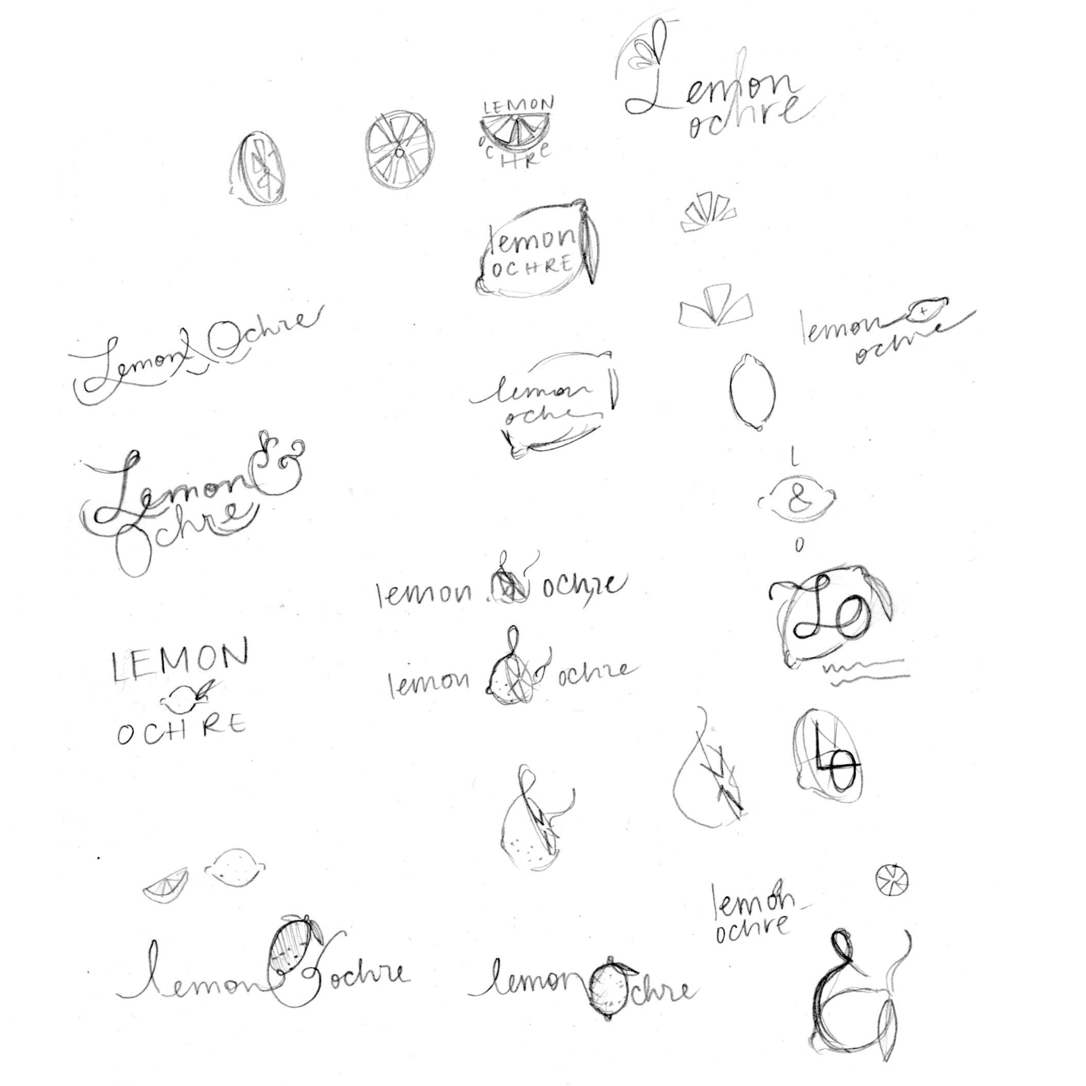 Lemon & Ochre Logo - image 2 - student project