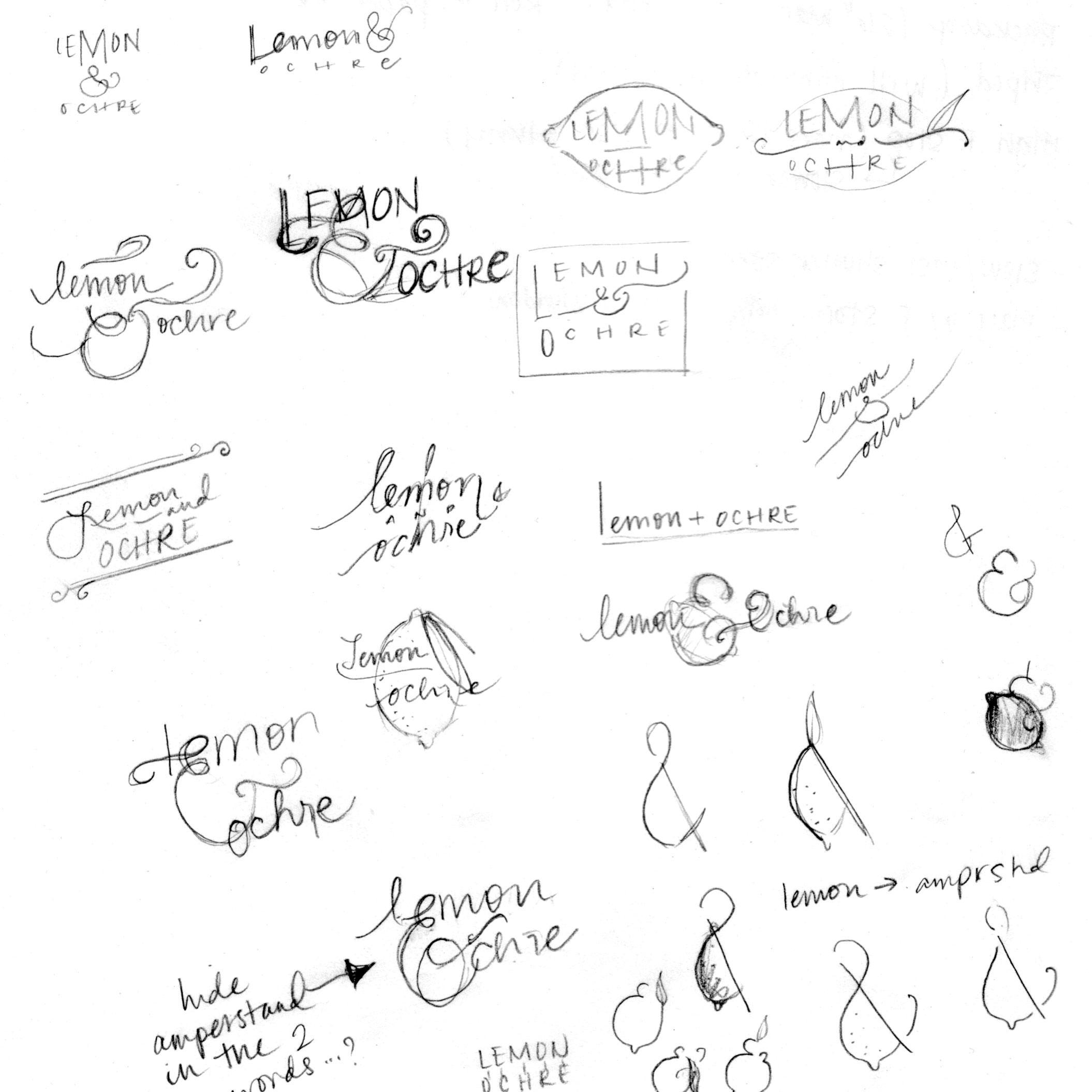 Lemon & Ochre Logo - image 1 - student project